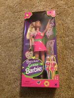 1997 Mattel Sticker Craze Barbie Doll