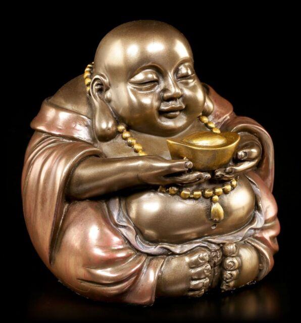Maitreya Buddha Figur Klein Feng Shui Buddhismus Reichtum Wohlstand Glück