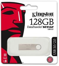 Kingston DataTraveler SE9 G2 DTSE9G2/128GB 128GB 128G USB3.0 Flash Drives