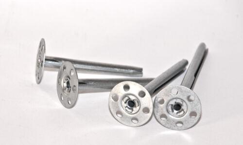 Schlagdübel MetallTeller Dübel Tellerdübel Dorndübel ISO Dämmstoffdübel