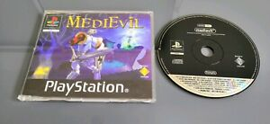 Medievil-Jeu-Sony-PlayStation-one-ps1-ps2-ps3-Version-Promo-En-Boite