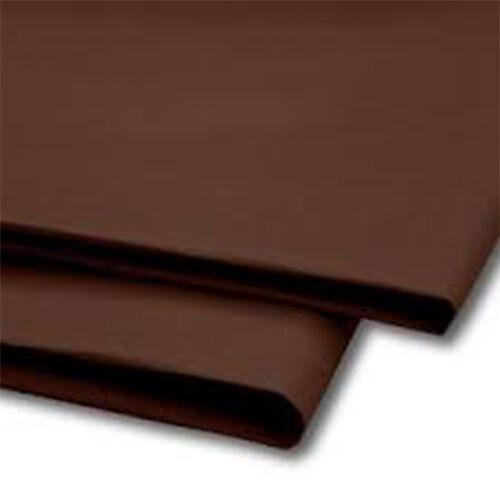 50 Sheets Brown Tissue Paper 500x750 Acid Free