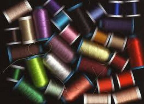Surprise bundle of 10 mixed 100 m polyester thread sewing assorted colours