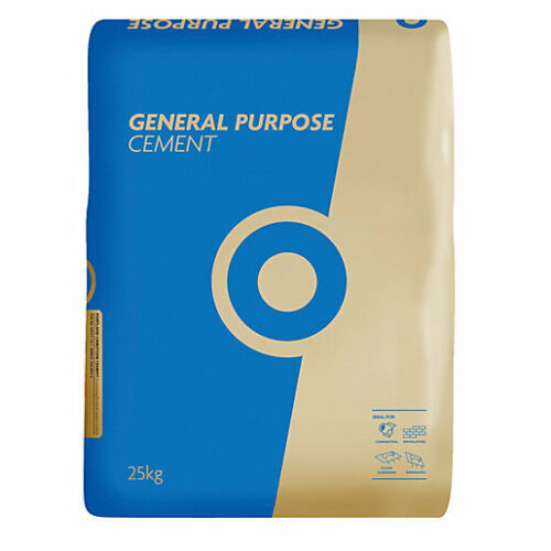 Free Delivery!! 30 Bag Deal Lafarge Blue Circle Cement In Paper Bags 25kg