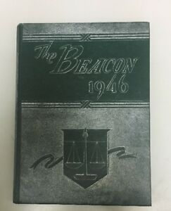 Details About Yb332 The Beacon 1946 Yearbook Grover Cleveland High School St Louis Mo