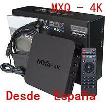 MXQ 4K Smart HD TV BOX Android 8G WiFi Media Player XBMC Equipos DLNA Amlogic NE