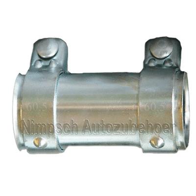 Rohrverbinder mit Doppelschelle 65x125 mm