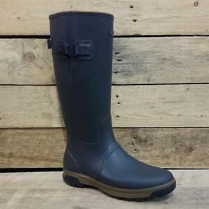 Grubs Highline Wellington Boots In Mahogany Men's
