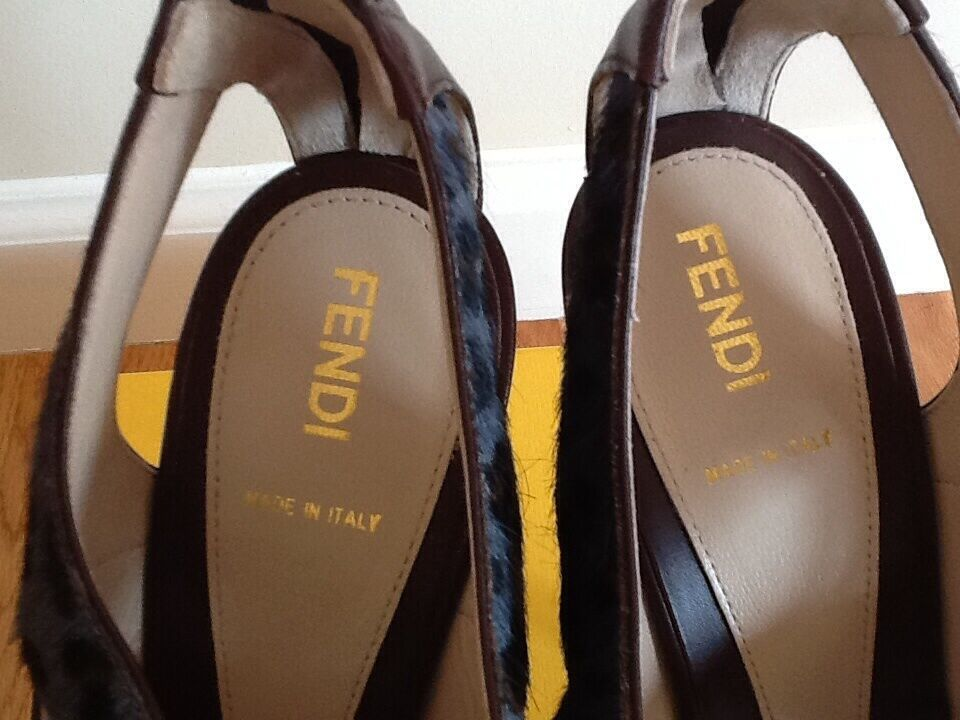 Authentic limited edition Fendi schuhe Größe 39 39 39 310f06