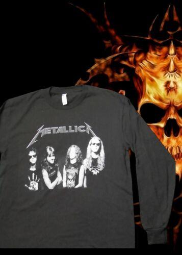 METALLICA PUNK ROCK LONG SLEEVE MEN/'s SIZES NEW!