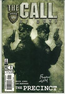 The-Call-of-Duty-The-Precinct-1-signed-by-David-Finch