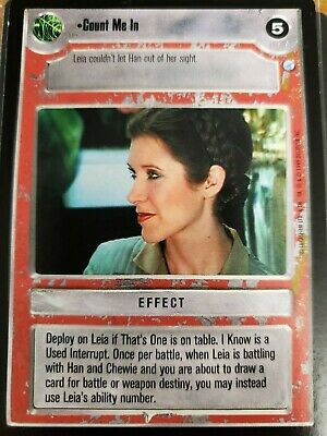 Star Wars CCG Endor General Solo NrMint-MINT SWCCG
