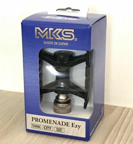 Details about  /MKS Promenade EZY Pedal Folding MTB Urben Commute Bike Removable Black or Titan