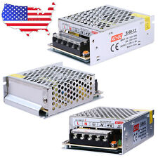 New DC 12V 5A 60W Universal Regulated Switching Power Supply Adapter AC 110-220V