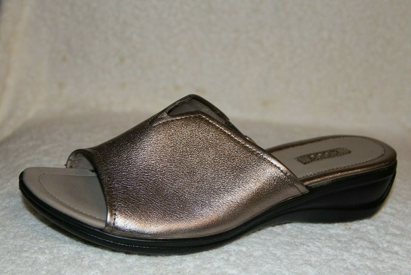 Nuevo Ecco Sensata Sandal gris Cálido Metálico (EE. UU.) 39 (UE)