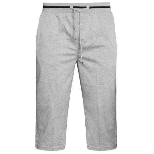NUOVA linea uomo Elasticizzata Tinta Unita in Pile palestra Jogger pantaloncini Jersey in esecuzione tasche con zip