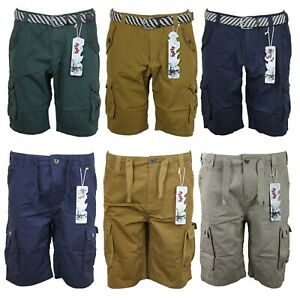 New-Mens-Cargo-Combat-Shorts-Regular-fit-Soul-Dance-Half-Pants-30in-to-38in-Size