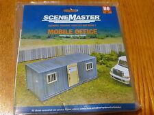 Walthers SceneMaster HO #949-2900 Mobile Office Molded in Light Gray Plastic Kit