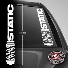 STATIC sticker 550mm wide - Dub - Euro - JDM - VW - DRIFTING - RATLOOK