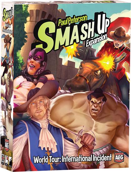 Smash Up World Tour: International Incident $24.99 Value [AEG05516]