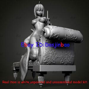 Lovely Girl With Dog 1/6 Figure 3D Print Model Kit