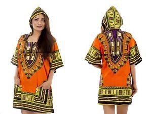 f6dc1859872 Unisex Men Women African Dashiki Shirt Dress Top Hoddie Tribal Plus ...