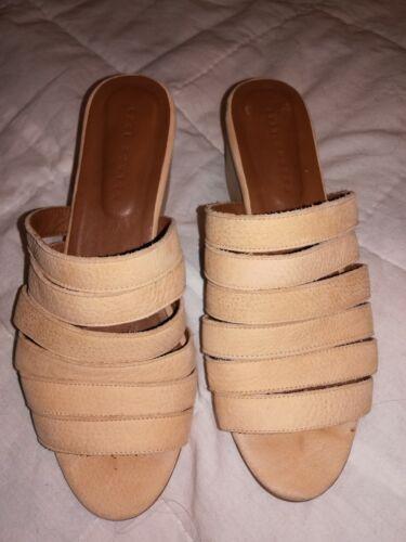 Ceri Hoover Mules Sandals 6 Anthropologie (Y)
