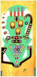 Bally Eight Ball Flipper Machine Playfield Revêtement RéTréCissable