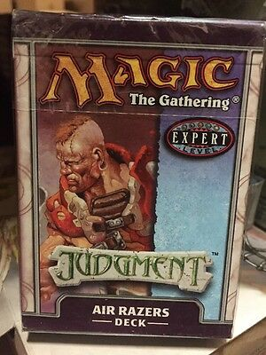 Magic The Gathering Judgment Air Razers Deck For Card Game MTG