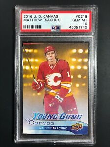 2016-17-Matthew-Tkachuk-Young-Guns-Canvas-Rookie-Graded-PSA-10-Gem-MT
