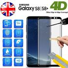 Full 4D Tempered Glass Screen Protector For Samsung Galaxy S8/ S8 Plus Bundled