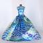 9PCS-fete-de-mariage-robe-princesse-vetements-fait-main-tenue-12-in-environ-30-48-cm-pour-poupee miniature 9