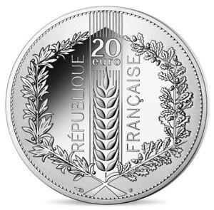 NOUVEAU-PRIX-FRANCE-20-EURO-2020-EX-MARIANNE-ARGENT-SILVER-CHENE-Natures-de