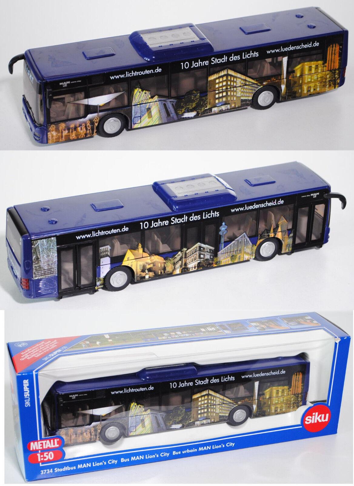 SIKU SUPER 3734 00402 manœuvrable on LION \ 's City, lumière itinéraires, 1 50, modèle spécial