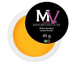 Polvere  Acrilica Giallo Professionale MV 45 gr -  Porcellana unghie
