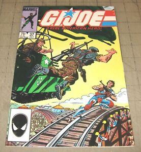 GI JOE #37 (July 1985) VF- Condition Comic - G.I. JOE - 1st Flint, Footloose + +