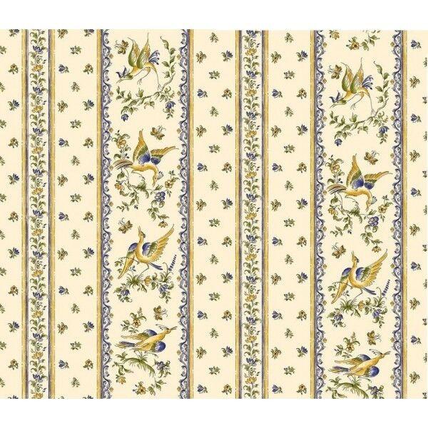 Non Enduit 100% coton rectangle 60x80 + 5 serviettes Moustiers Provence Nappe