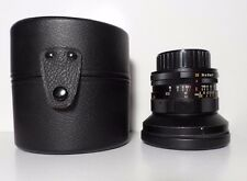 Konica Hexanon AR 21mm F4 Wide Angle Lense W/ UV Filter Caps and Case