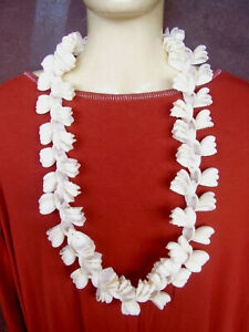 "Ponctuel Wg227 / Collier Sautoir ""hawaÏ"" En Coquillages"