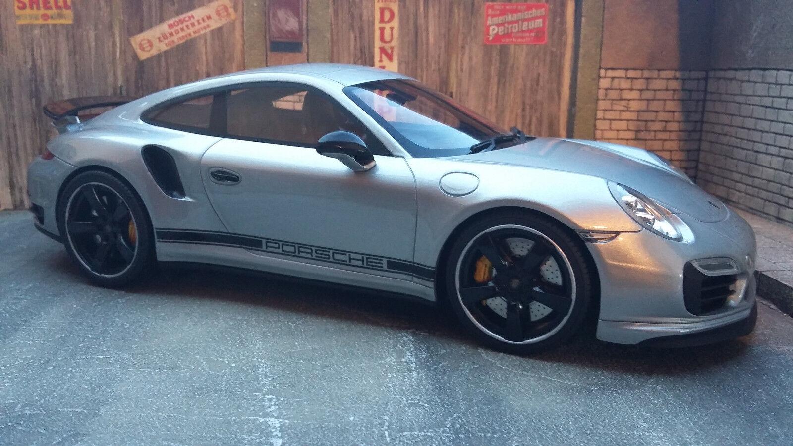 Porsche 911 (991) Turbo S Exclusive Go RHD  1 18 GT-SPIRIT Neuf dans sa boîte  dessins exclusifs