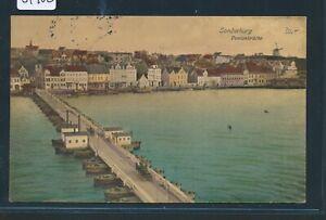 DéLicieux 34902) Bahnpost Flensburg-sonderburg Train 906, Ak P. Ponton Pont 1914-afficher Le Titre D'origine Bonne RéPutation Sur Le Monde
