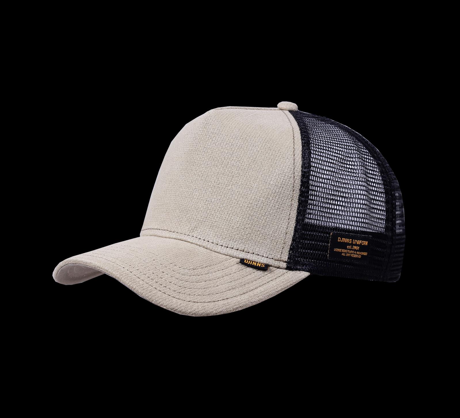 Djinns Hft Cap Full Bubble Piqué High Fit Trucker Basecap Snapback Curved Hat