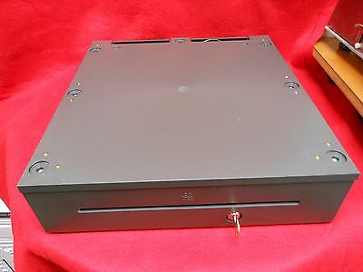With Cash Till NCR 2181-3105 RealPOS Cash Drawer Dark Gray Key and Cable