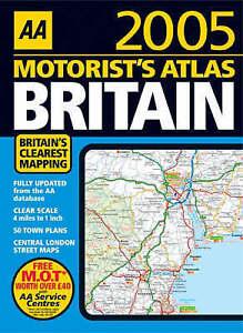 AA-Motorist-039-s-Atlas-Britain-2005-2005-Road-Atlas-AA-Publishing-Acceptable