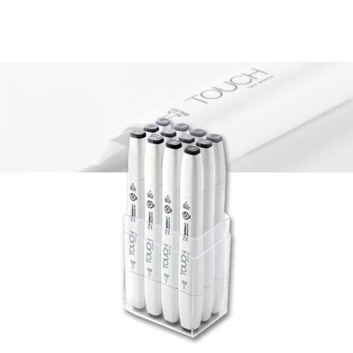 Touch Twin Marker Brush 12er Cool Greys Touch 17696034 Layoutmarker