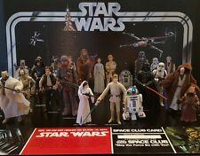Star Wars Vintage Retro Reissue First 12 Figures VOTC Early Bird Certificate Kit