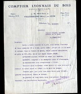 VILLEURBANNE-69-BOIS-034-COMPTOIR-LYONNAIS-DU-BOIS-034-Tarifs-en-1933