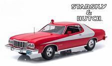 Véhicule FORD Gran Torino 1976 du Film Starsky et Hutch en Métal au 1/18
