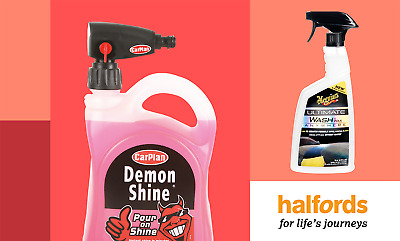 30% off Car Cleaning from Halfords