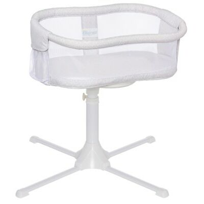 HALO Bassinest Essentia Swivel Sleeper Bassinet Infant Baby 2018 Modern Lattice
